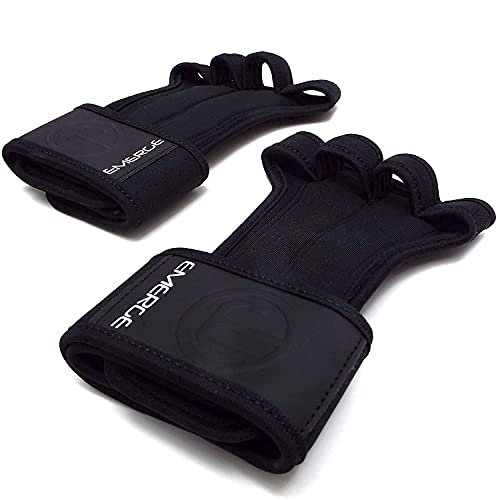 Cross Training Grips for Pull Ups, Cross Training, Gym, Home Workout Wrist Support | Hand Protection...