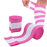 2 Pack Sports Knee Wraps, Elastic Knee Sleeves Knee and Elbow Support and Compression, Knee Brace...