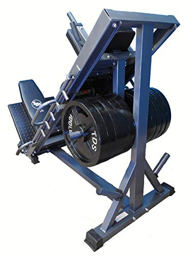 4-Way Hip Sled to use as Leg Press, HACK Squat, Forward Thrust, Calf Raise to give a Full Lower Body...