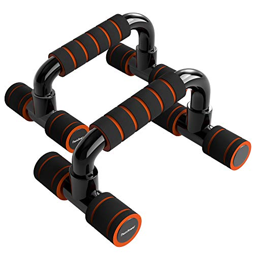 READAEER Push Up Bars Gym Exercise Equipment Fitness 1 Pair Pushup Handles with Cushioned Foam Grip...