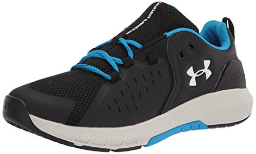Under Armour Men's Charged Commit 2.0 Cross Trainer, Black (004)/Summit White, 7