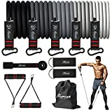 HPYGN Resistance Bands Set, Exercise Bands with Handles, Ankle Straps, Door Anchor, Carry Bag, Great...