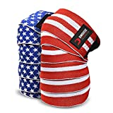 DMoose Knee Wraps for Weightlifting Men and Women Powerlifting, Deadlift, Bodybuilding, Squats and...