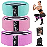Recredo Booty Bands, Non Slip Resistance Bands for Legs and Butt, Workout Bands Exercise Bands Glute...