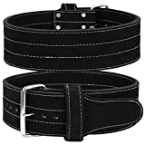 Single Prong Power Lifting Belt Men & Women Weightlifting Competition Workout Training Weight...
