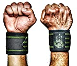 MANIMAL Wrist Wraps - Superior Wrist Support for Weightlifting, Stabilization and Style - Lifting...