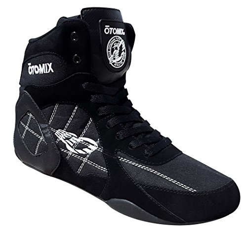 Otomix Men's Warrior Bodybuilding Boxing Weightlifting MMA Shoes Black 9