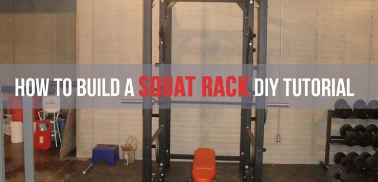 diy squat rack metal