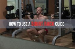 squat rack safety bars