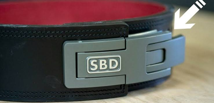 sbd lifting belt