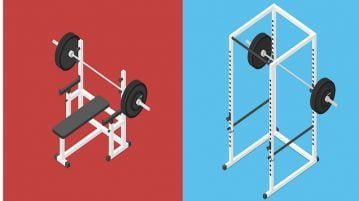 power tower vs power rack